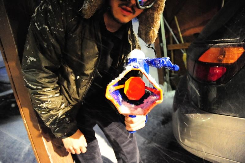 Wham-O Snowball Blaster: Snowmodo Review
