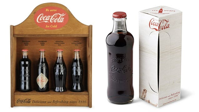 All Four of Coke's Classic Bottles Since 1899 Have Been Reissued for Their 125th Birthday