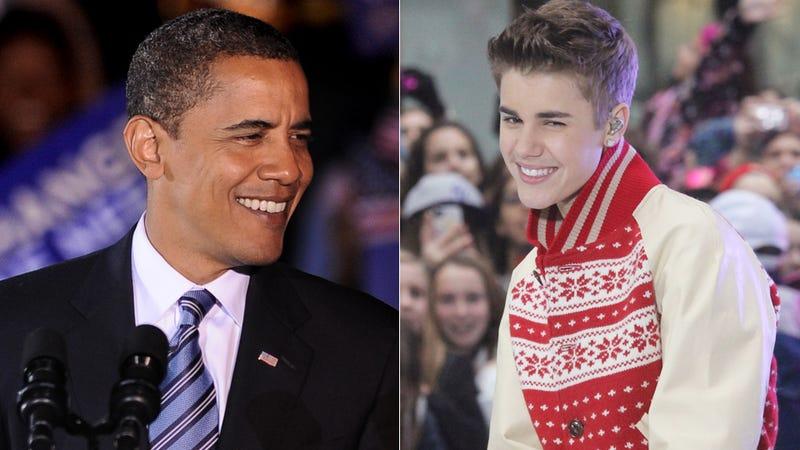 Obama and Bieber in Manhattan Together Again, Suspiciously