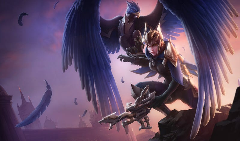 Quinn's New Bird Form In League Of Legends Looks Kinda Silly