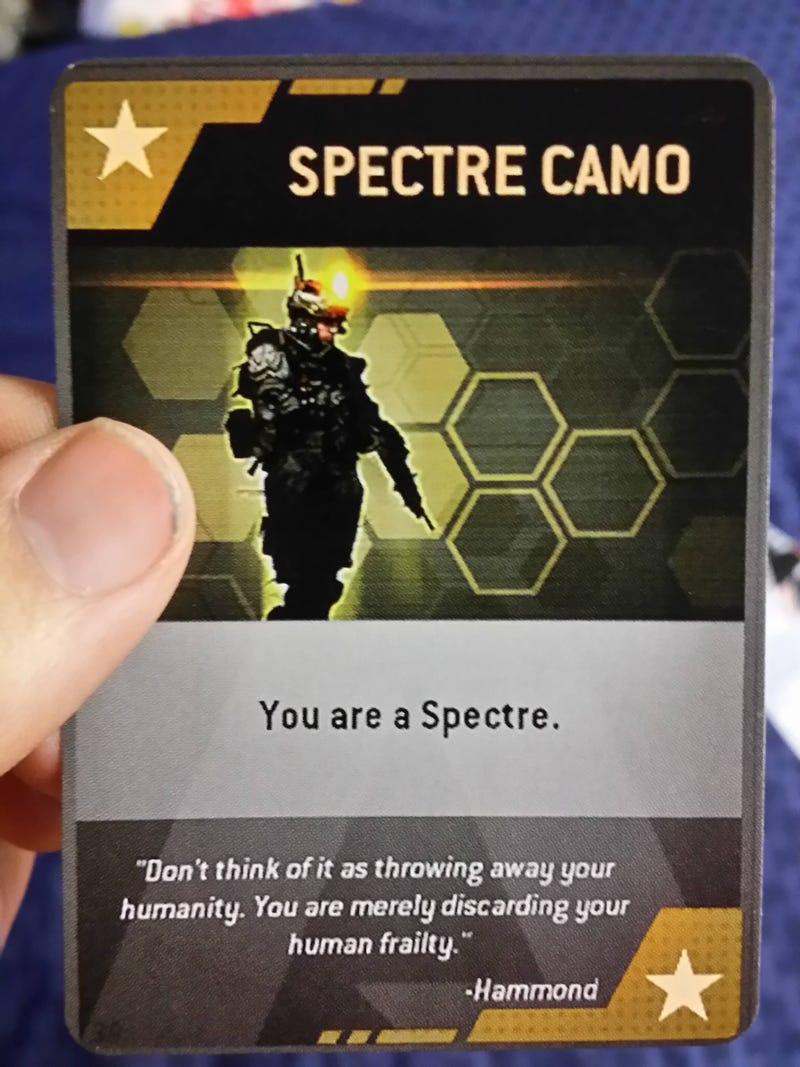 Don't Burn Titanfall Cards In Real Life