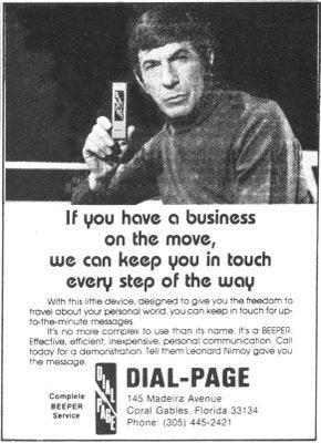 Spock And The Motorola StarTac