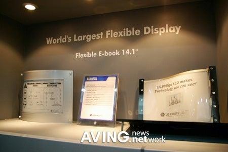 LG Phillips E-book: Flexible Means Flexibility