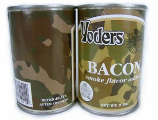 Canned Bacon Guarantees Full Heart Failure in 24 Hours