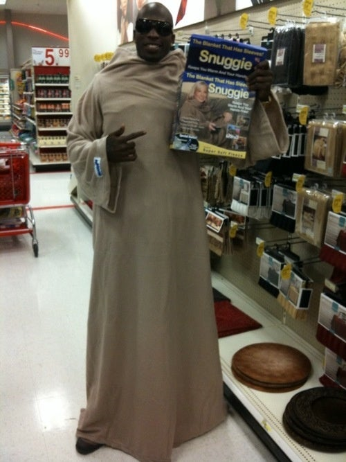 Franciscan Friar? Or Ochocinco Finding A Great Bargain?