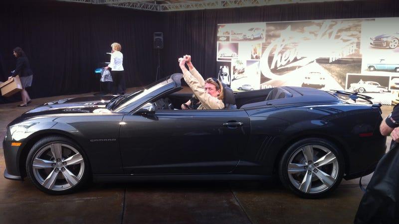 2013 Camaro ZL1 Convertible: First Drive (Technically)