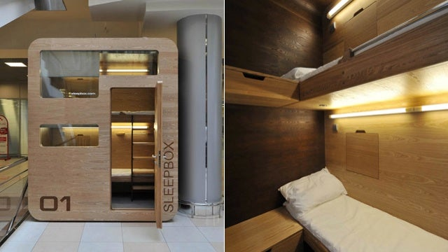 Sleepbox Is A Tiny Hotel Room For Airport Layovers