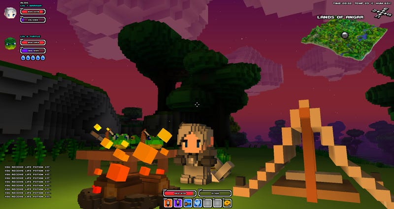 I Can't Stop Playing Cube World