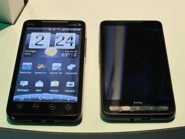 Sprint's HTC Evo, the First Ever 4G Phone: Meet the New Terrific