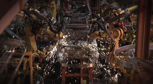 Watch a Chevy Volt Get Assembled in 2 Minutes