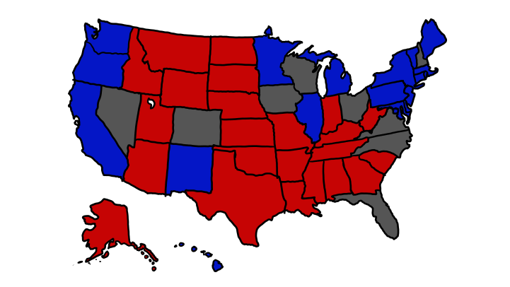 What If There's a Tied Vote In Every Battleground State?