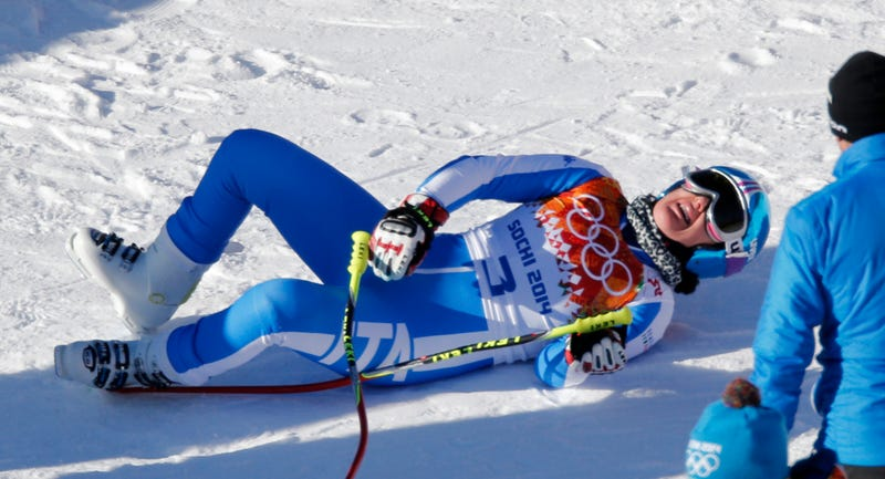 Women's Downhill Skiing Halted Because Jump Was Too Big