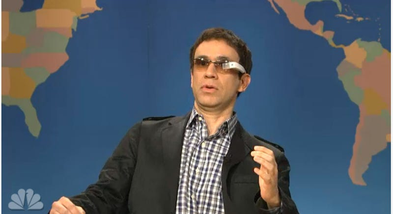 SNL Knows That Google Glass Is Going To Be A Struggle
