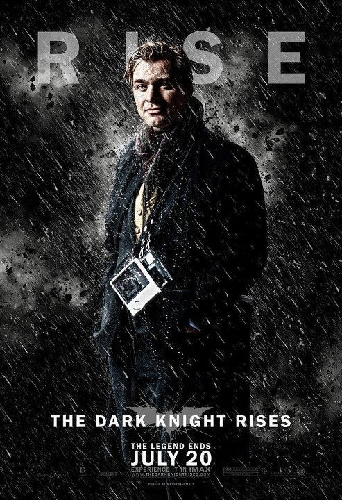 The Dark Knight Rises is two hours and 45 minutes long!
