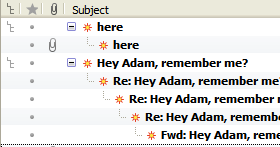Always view messages in threaded view