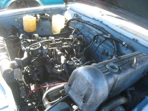 1979 Datsun King Cab Pickup Down On The Junkyard