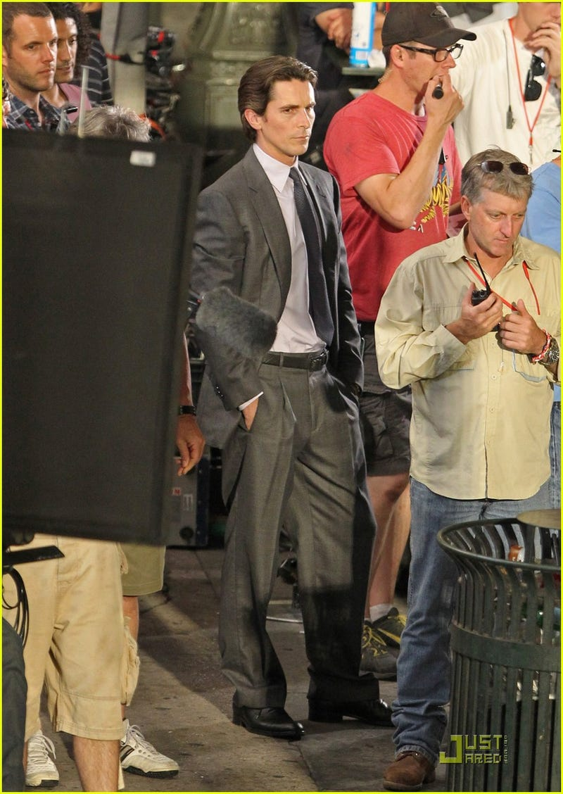 Dark Knight Rises set photos
