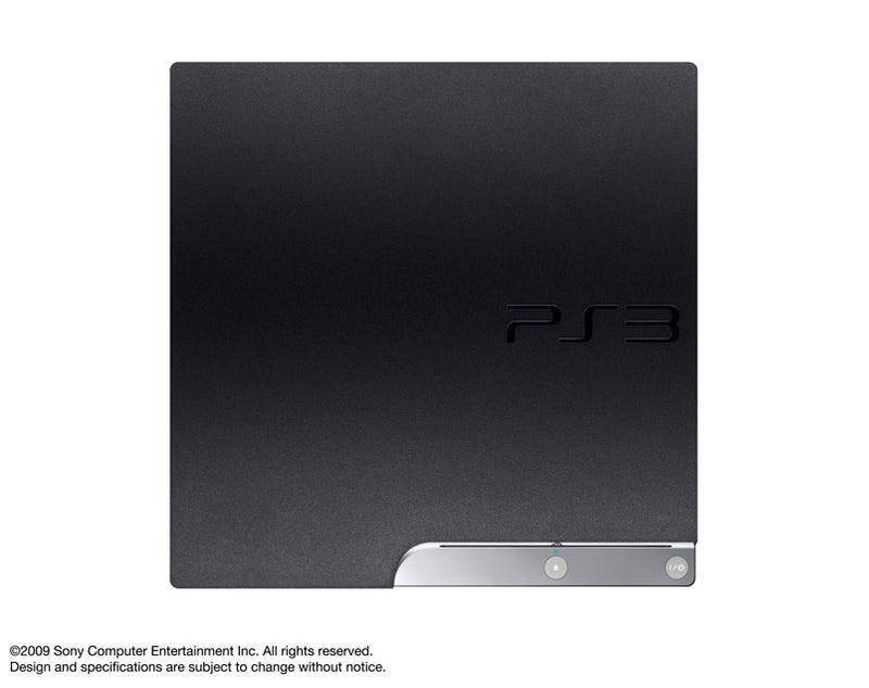 PS3 Slims Pics And Specs