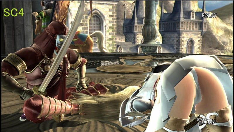 The Difference Between SoulCalibur V and SCIV in Two NSFW Photos