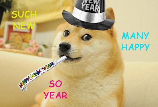 Happy New Year! (9 hours early)