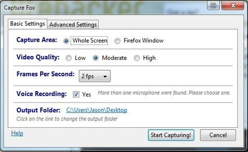 CaptureFox Adds Screen Capture Capabilities to Firefox