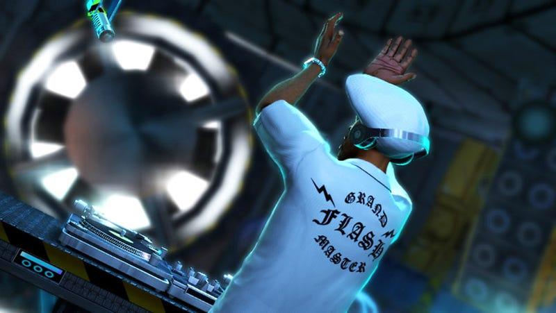 DJ Hero Taps The Grandmaster