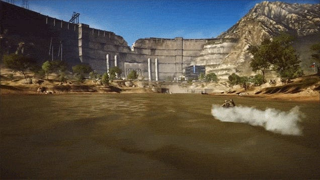 Battlefield 4 Reinvents Jousting With Jet Skis And Bazookas