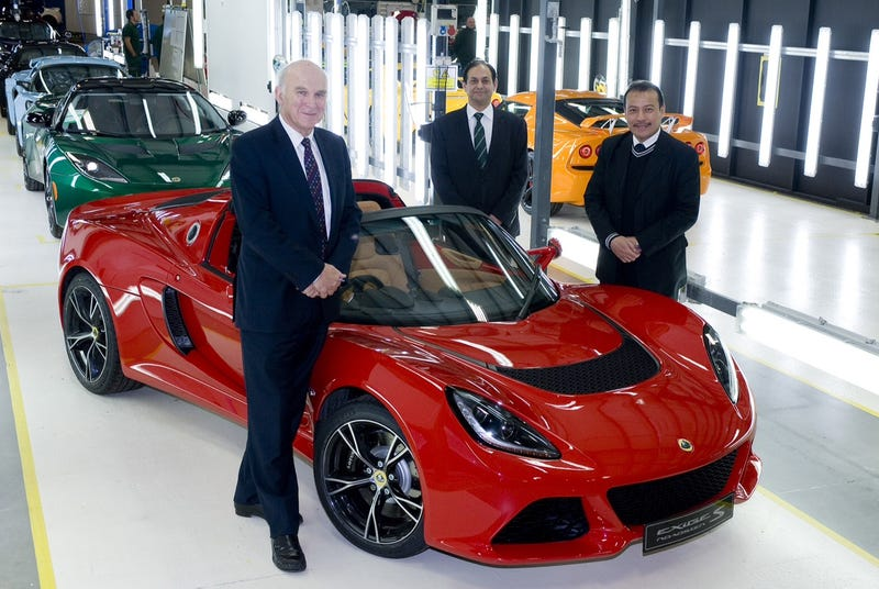 Lotus Cars Gets £10million Grant From UK Government