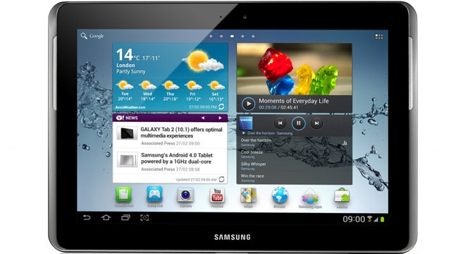 Samsung's Galaxy Tab 2 Now Comes In a 10.1-Inch Flavor, But Is Fatter and Heavier Than the Original
