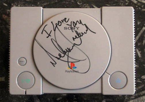 This Michael Jackson Signed PlayStation Can Be Yours (For $1.5 Million)
