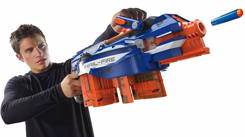 This Insane Nerf Blaster Can Fire Off 144 Darts in Under 30 Seconds