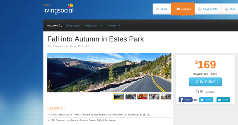 LivingSocial Selling Trips to Colorado Disaster Zone