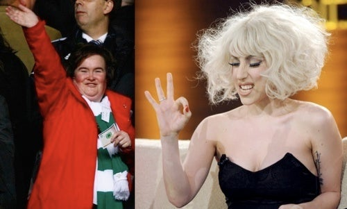 Gaga Considers Susan Boyle Duet, Using 'Different Styles' as Euphemism for 'Too Ugly'