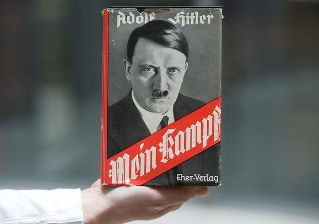 Mein Kampf Is One of the Bestselling Political Books of the Year