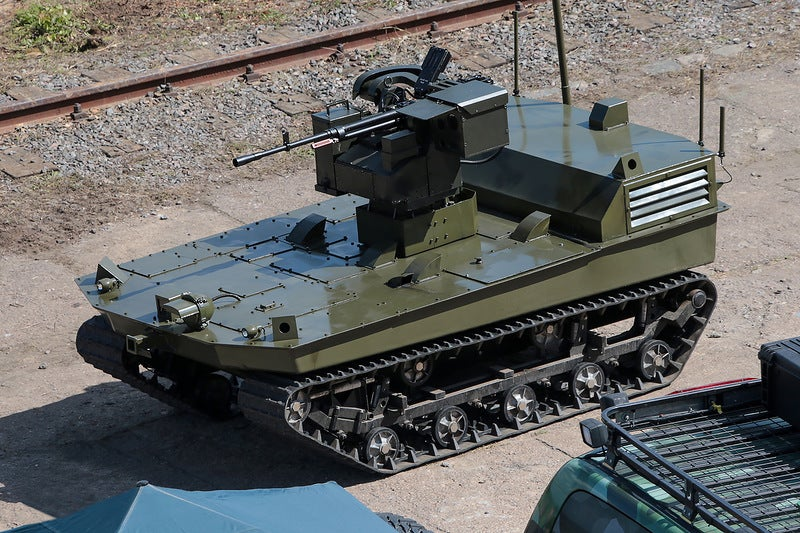 Russia is developing ground drone army—including amphibious models