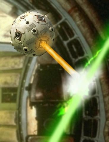 Star Wars, SPHERES, & the International Space Station