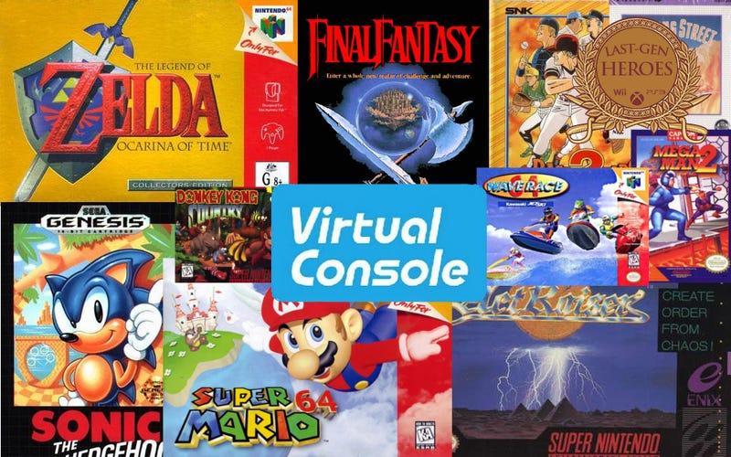 Last-Gen Heroes: Virtual Console