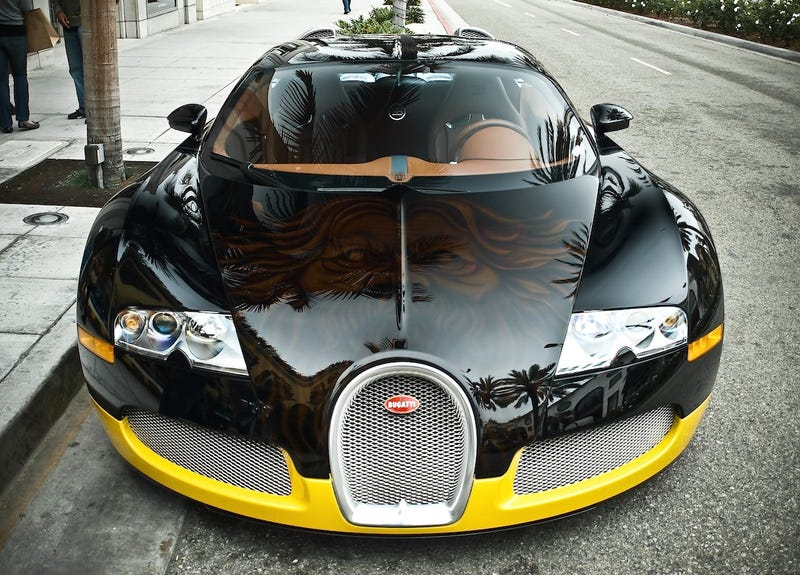 Famous Designer Remakes Bugatti Veyron With Inspiration From J.C. Whitney