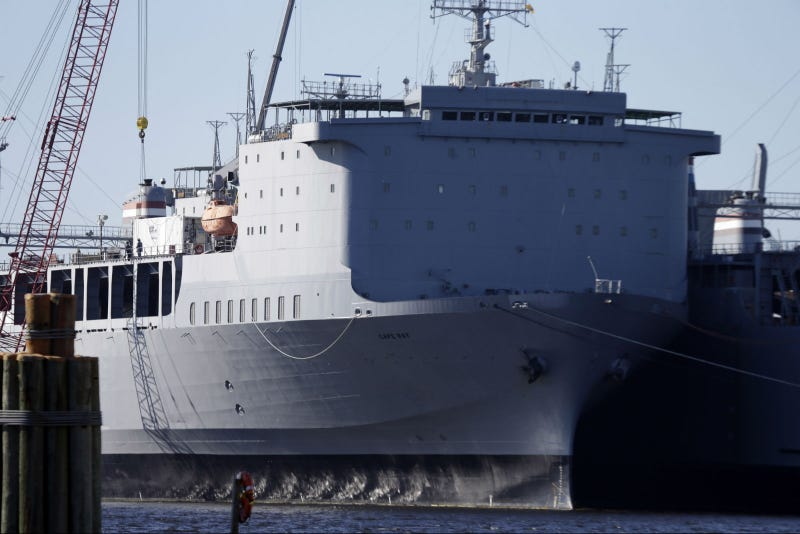 Here's the Ship That Will Destroy Syria's Deadliest Chemical Weapons