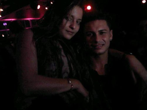 Lindsay Lohan Is Hangin' With Jersey Shore Cast