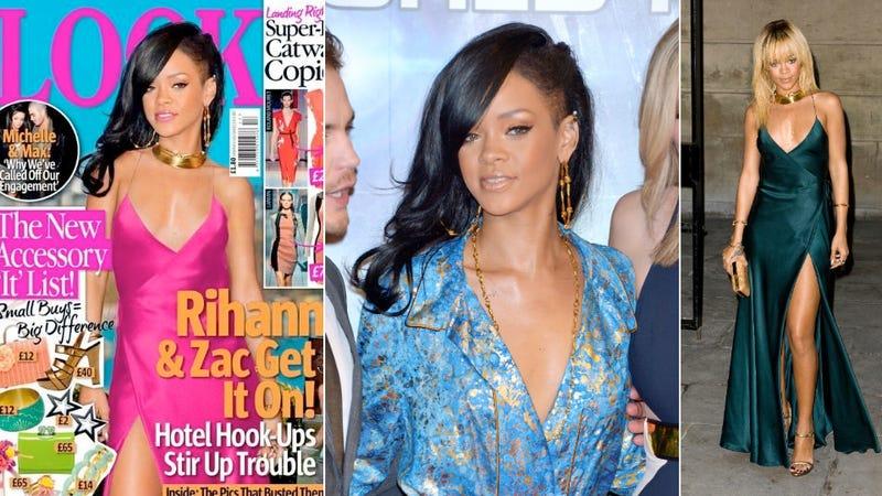 Rihanna, Now With Bonus Weird Franken-Head