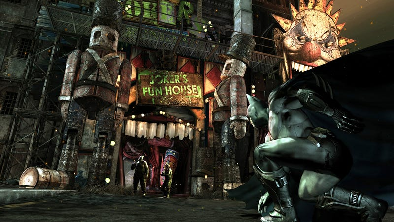 Arkham City's Joker Is Happy To See You