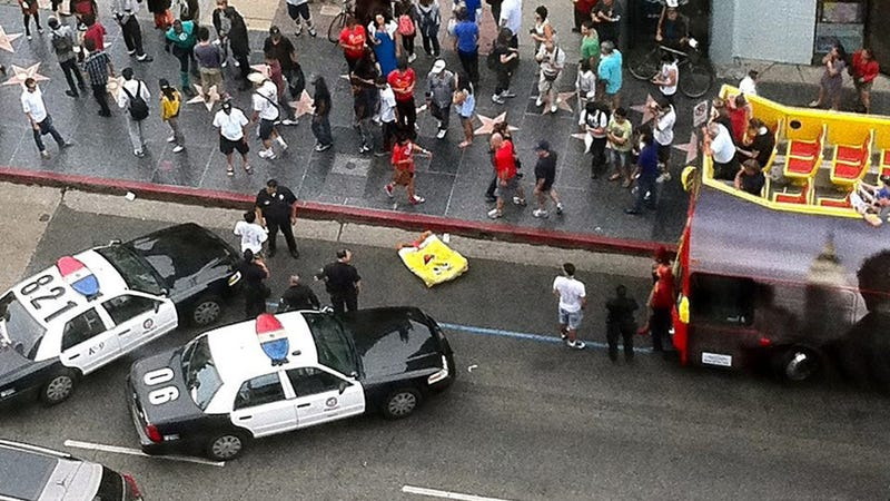 SpongeBob SquarePants Detained by LAPD