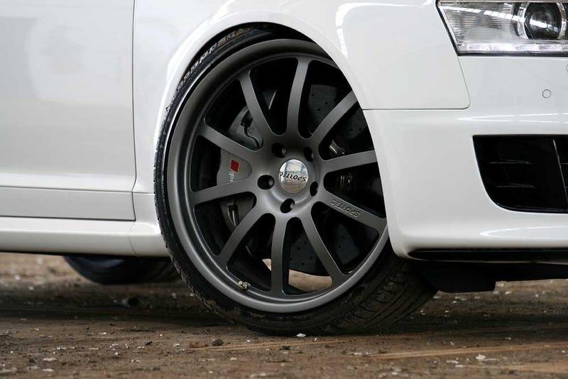 "German Tuning Shop Names Custom Audi RS6 ""WHITE POWER"""
