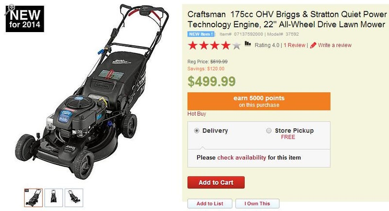 For when FWD lawn mowers just won't do