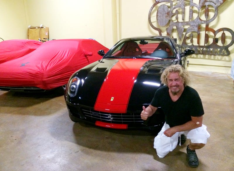 Sammy Hagar, rock hall of famer, future LaFerrari owner