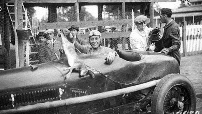Dead Animal + Enzo Ferrari = Prewar Racing