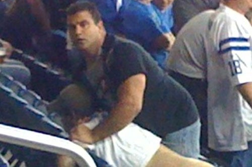 Lions Fan Enjoys Historic Victory Sans Pants