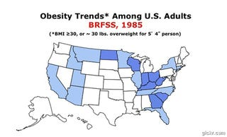 Mississippi Wins the CDC's 'Most Obese' Award