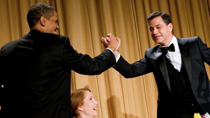 Barack Obama Is the President of Friendly Gestures